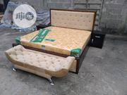 King Size, Quality Bedframe With Orthopedic Spring Mattress | Furniture for sale in Lagos State, Ojo