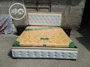 (6×6) High Quality Bedframe With Orthopedic Spring Mattress | Furniture for sale in Lagos State, Ojo