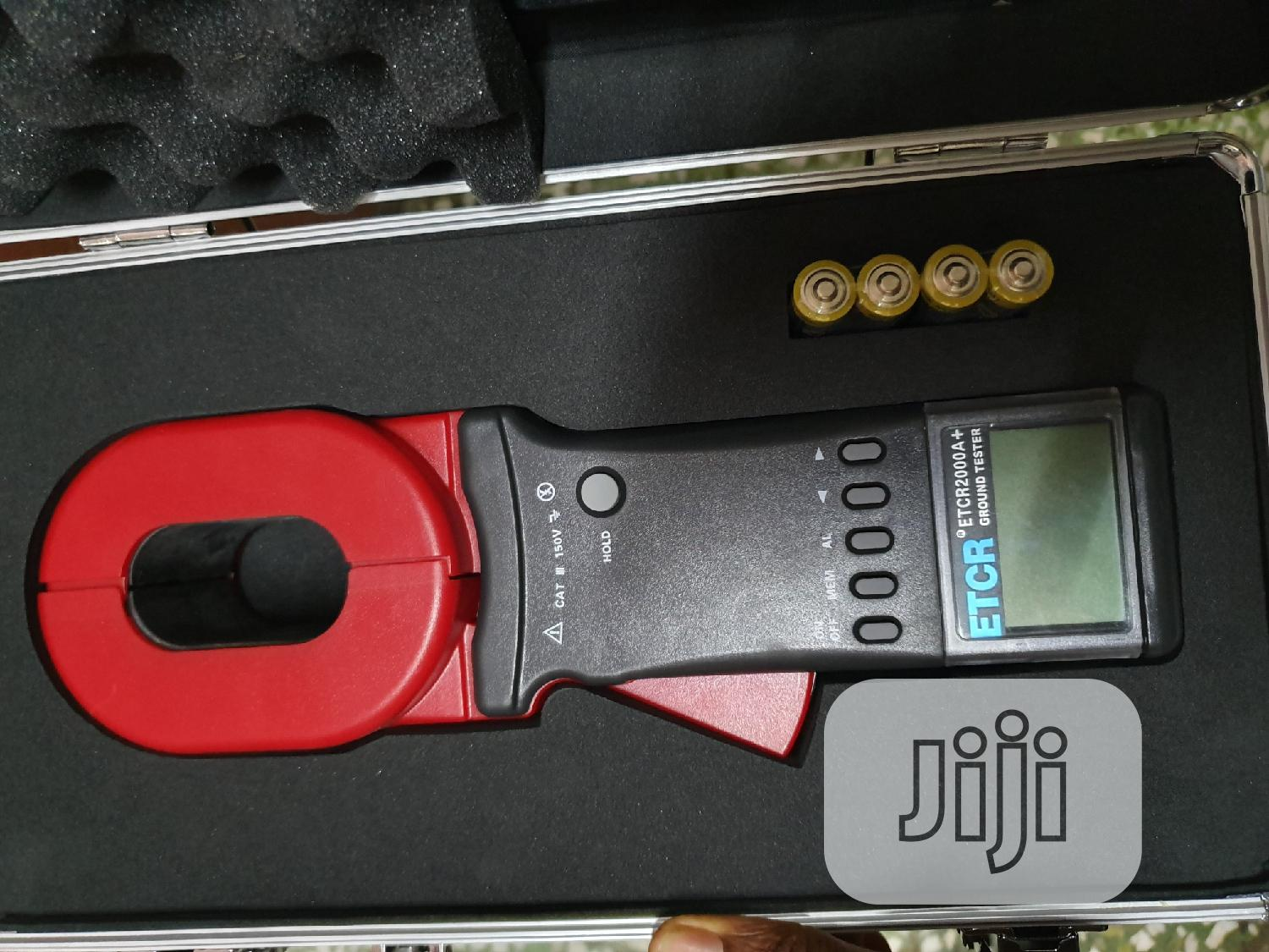 Etcr Earth Ground Clamp Tester