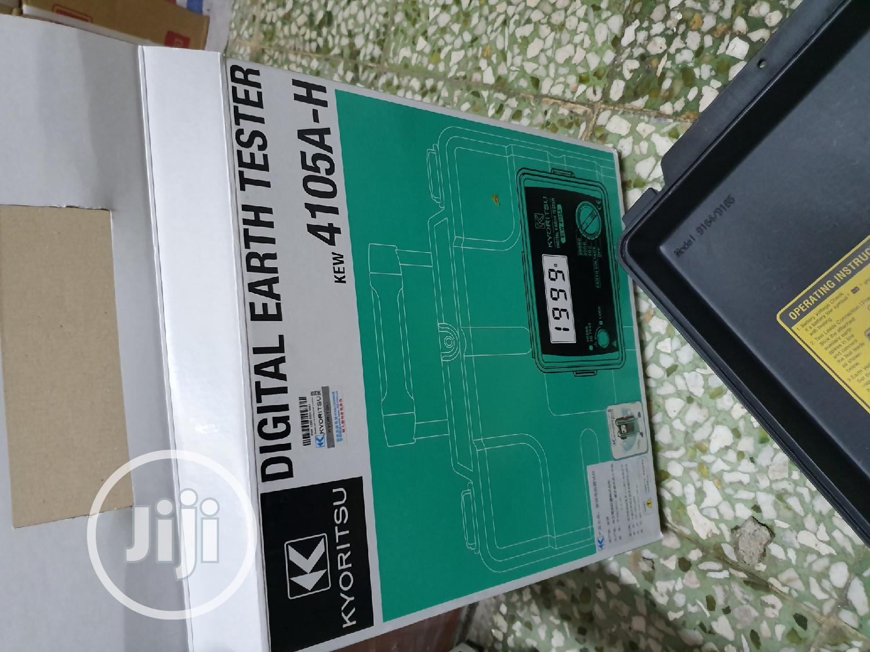 Kyoritsu Earth Tester | Measuring & Layout Tools for sale in Amuwo-Odofin, Lagos State, Nigeria