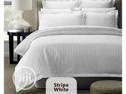 Quality Stripe White For Hotels/Home 6/6(Wholesale/ Retails) | Home Accessories for sale in Lagos State, Isolo