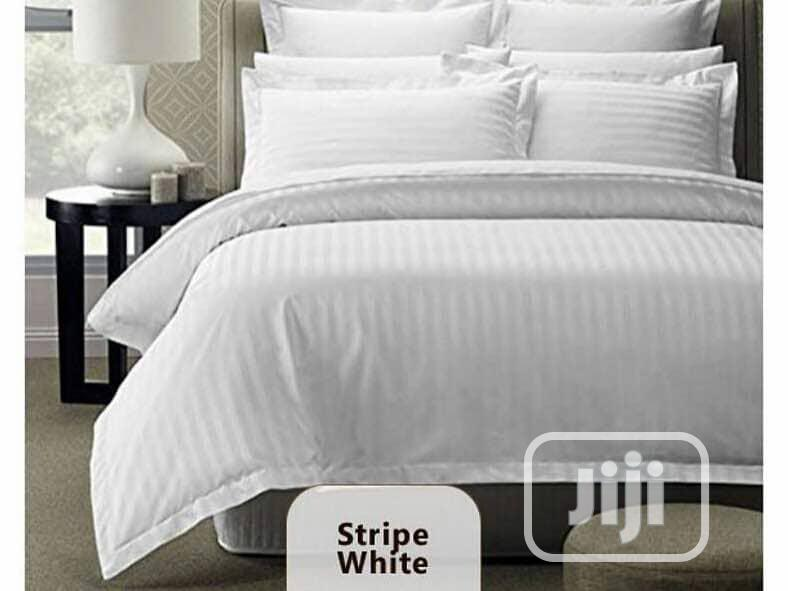 Quality Stripe White For Hotels/Home 6/6(Wholesale/ Retails)