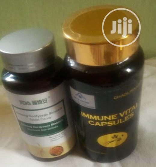 Ginseng Cordyceps And Immune Vital Capsules