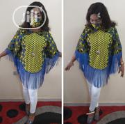 Muna Fringe Top With Free Facemask | Clothing for sale in Abuja (FCT) State, Gwarinpa