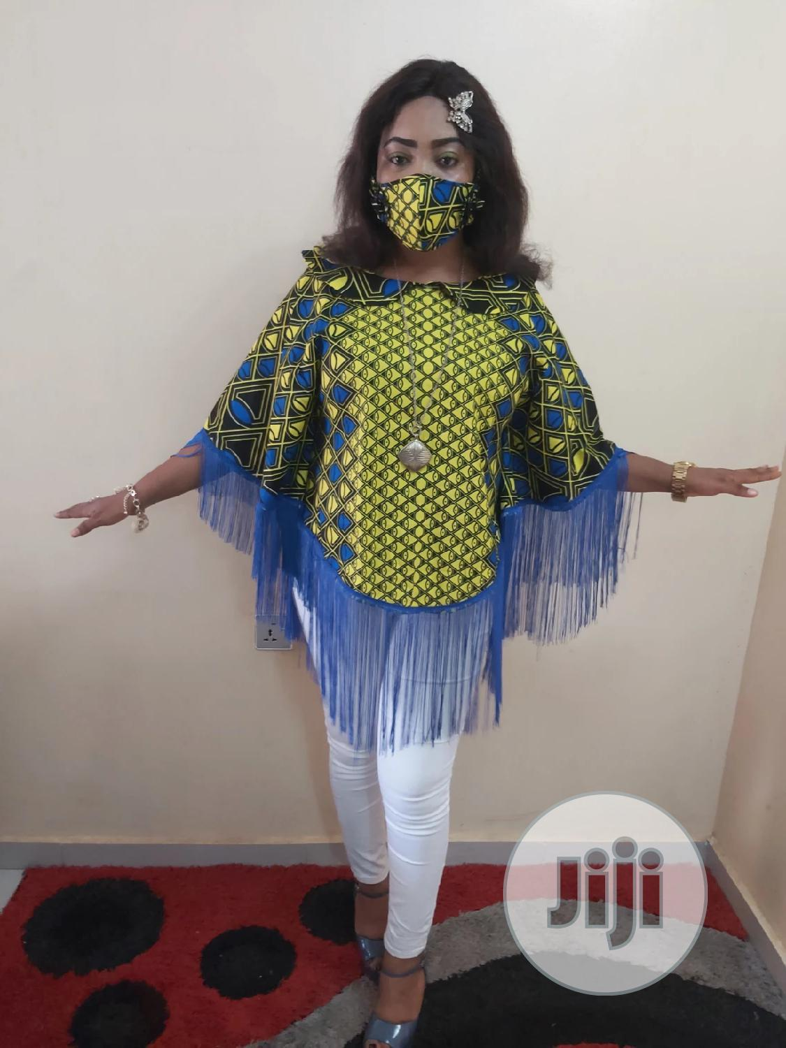 Archive: Muna Fringe Top With Free Facemask