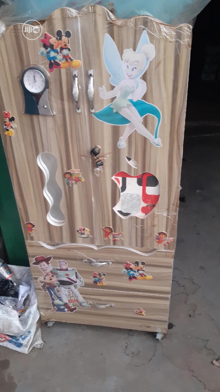 Baby Wooden Wardrobe