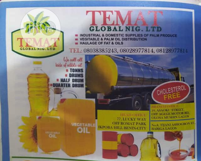 Buy Vegetable Oil And Palm Oil