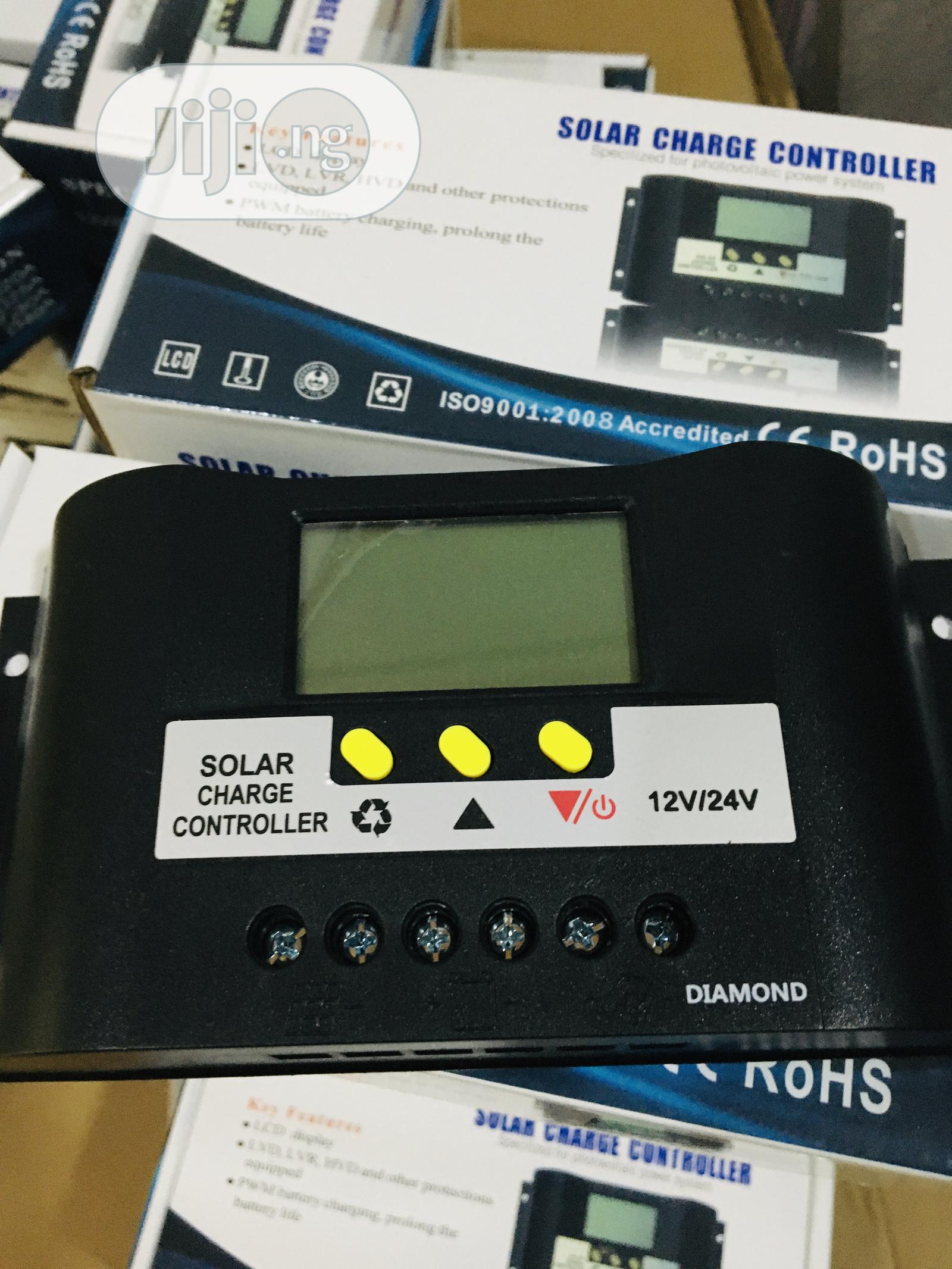 30ah Pwm Charge Controller Available