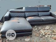 Foreign Used 7 Seater L Sofa Leather Chair | Furniture for sale in Lagos State, Ikeja
