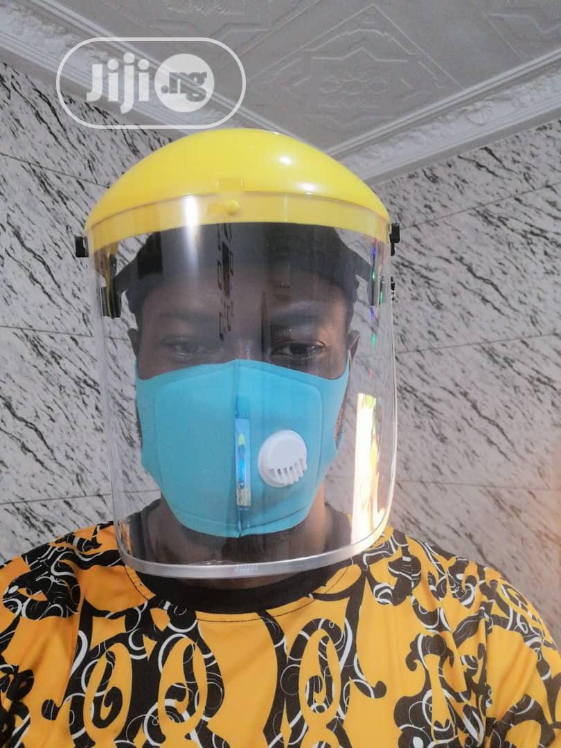 Protective Face Shield   Medical Equipment for sale in Gwarinpa, Abuja (FCT) State, Nigeria