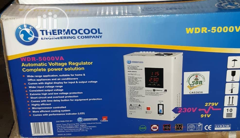 5000va Wall Mount Thermocool Stabilizer