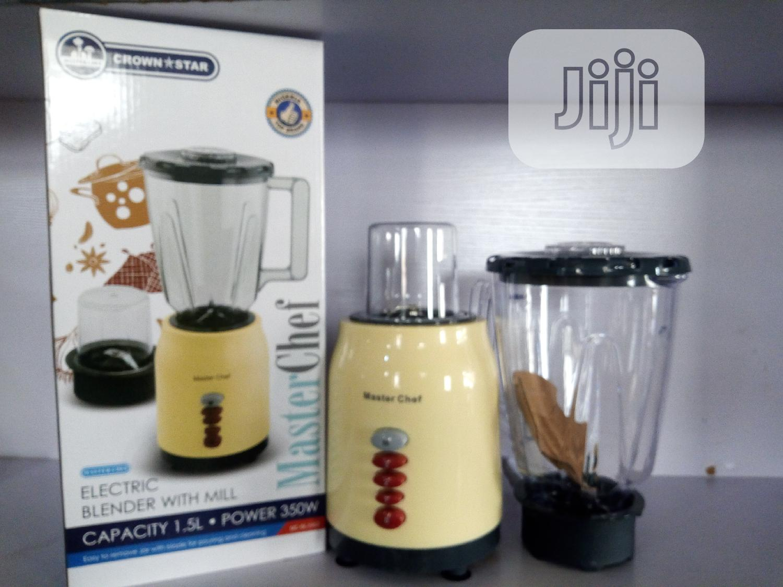 Master Chef Blender   Kitchen Appliances for sale in Ibadan, Oyo State, Nigeria