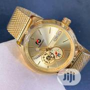 Fashionable Forecast Gold Watch With Date | Watches for sale in Oyo State, Ibadan