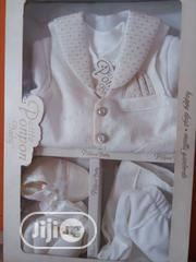 Ponpon Baby Boy Christening Wear | Children's Clothing for sale in Lagos State, Ipaja