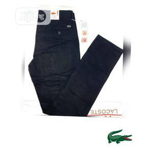 Lacoste Chino's Men Trousers   Clothing for sale in Lagos State, Lagos Island (Eko)