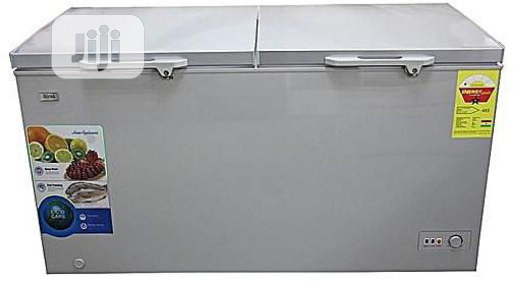 Hisense Double Door Chest Freezer 420liiters