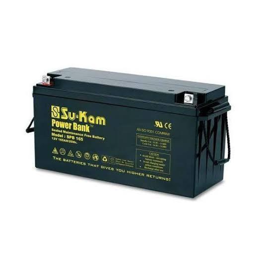 Sukam Inverter Battery 200ah/12V Smf