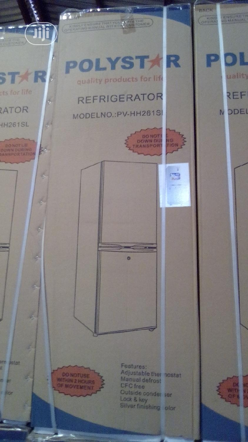 Polystar Half And Half Refrigerator | Kitchen Appliances for sale in Ojo, Lagos State, Nigeria
