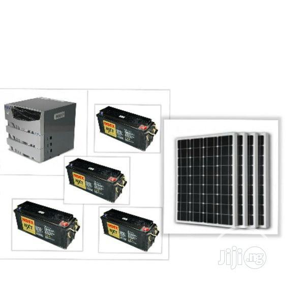 Luminous 4kva Complete Uninterrupted Solar Powered System