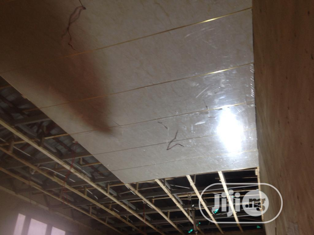 Gypsum Vinyl Suspended Ceiling | Building Materials for sale in Wuse, Abuja (FCT) State, Nigeria