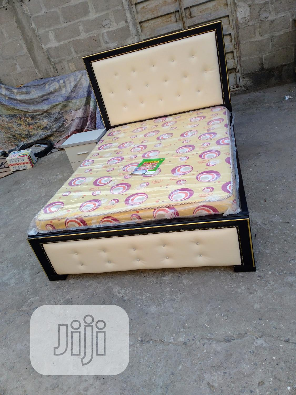 (4*5×6) Bedframe With Original Mouka Matrass