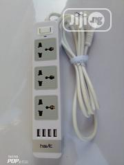 Havit Extension Box With 4 Port USB   Accessories & Supplies for Electronics for sale in Lagos State, Yaba