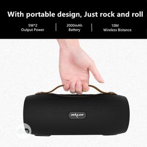 Zealot S29 Portable Bluetooth Speaker With FM Radio Zealot   Audio & Music Equipment for sale in Lagos State, Gbagada