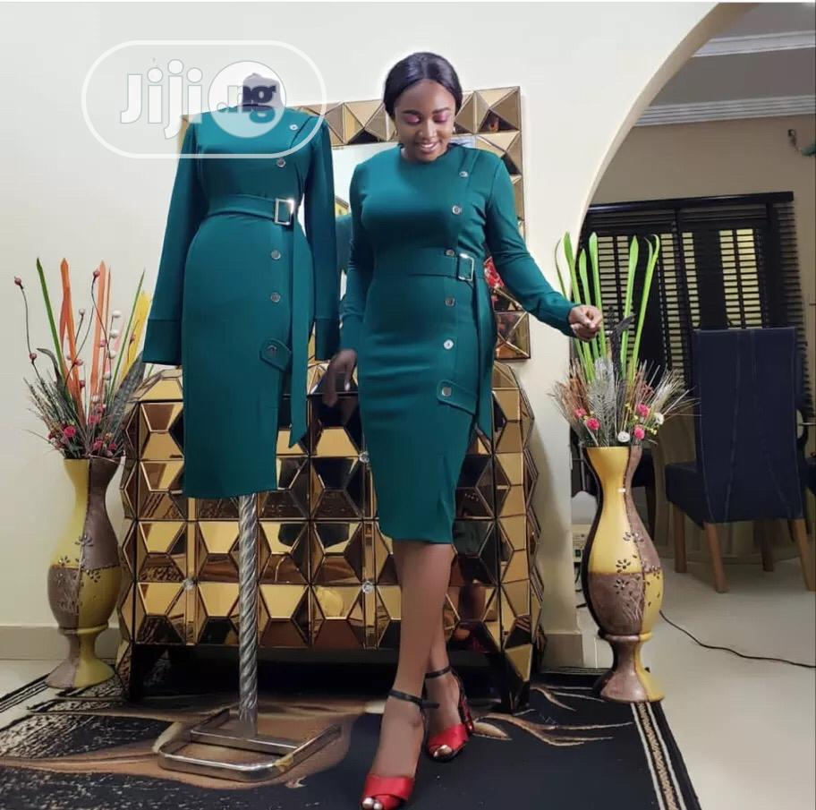 Classic Ladies Quality Dress | Clothing for sale in Ikeja, Lagos State, Nigeria