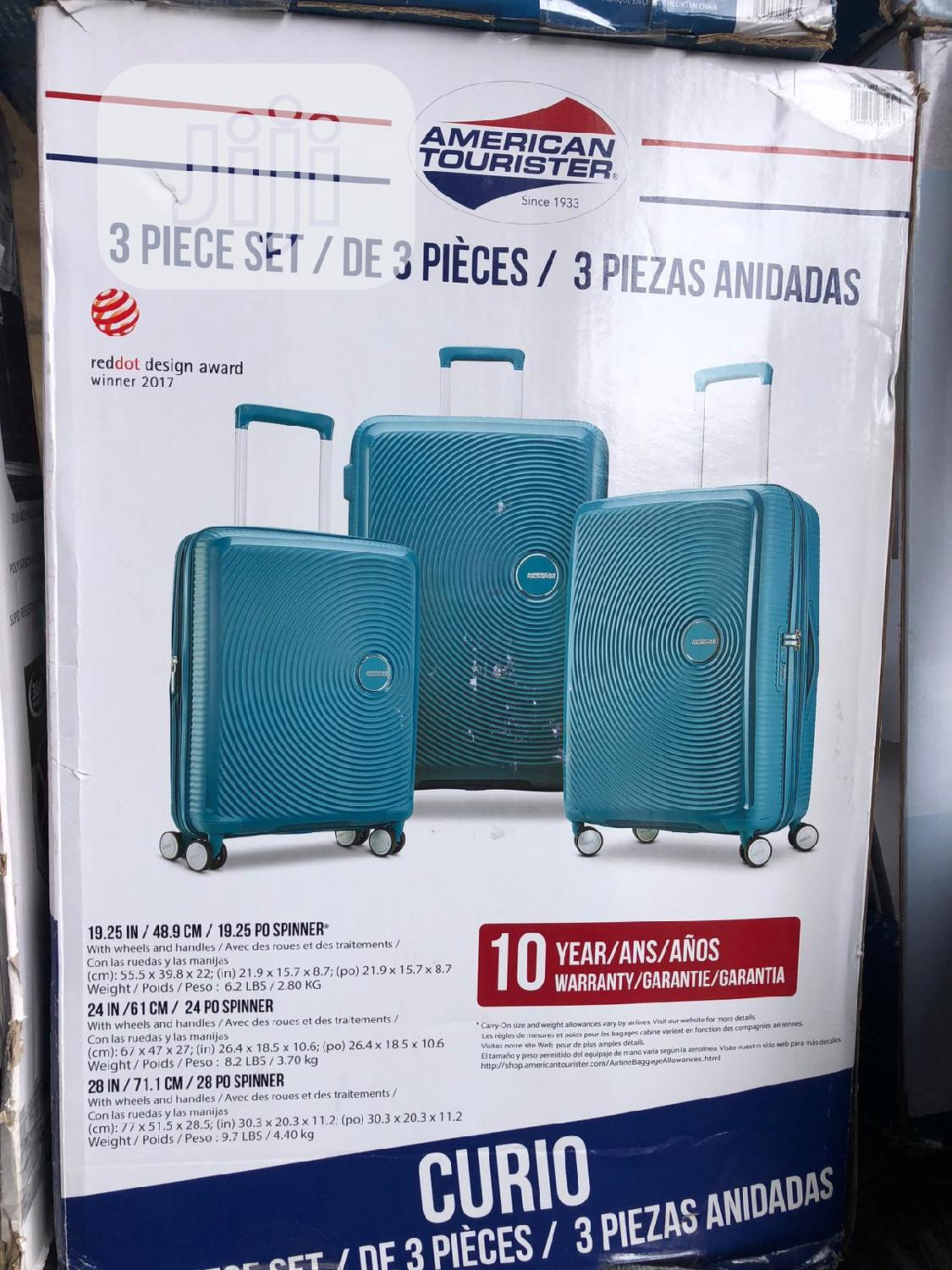 American Tourister 3 Piece Luggage Set | Bags for sale in Ojo, Lagos State, Nigeria