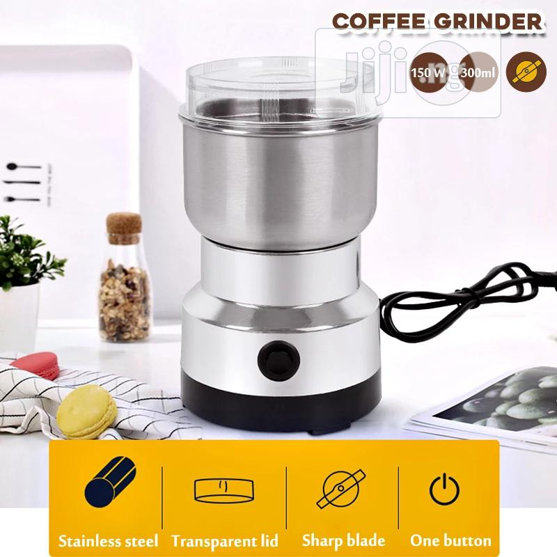 Nima Electric Stainless Spices Grinder And Millet | Kitchen Appliances for sale in Lagos Island, Lagos State, Nigeria