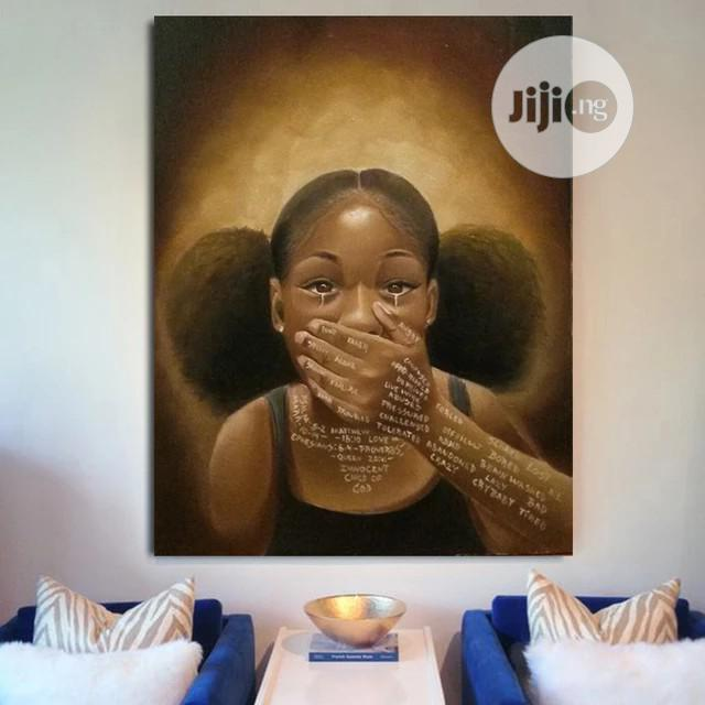 Wall Art 🎭 With Flame | Arts & Crafts for sale in Ajah, Lagos State, Nigeria