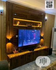 Inspiration Wall TV Stand With LED Lights | Furniture for sale in Lagos State, Lekki Phase 2