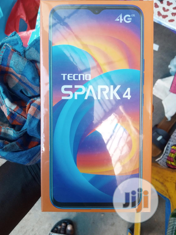 New Tecno Spark 4 32 GB Black | Mobile Phones for sale in Ikeja, Lagos State, Nigeria