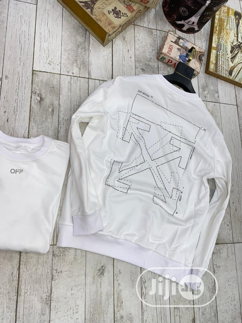 Archive: Off-White Long Sleeve T-Shirt
