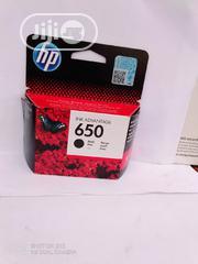 Original Hp Important 650 Black Ink Cartridges | Printing Equipment for sale in Lagos State, Lekki Phase 2