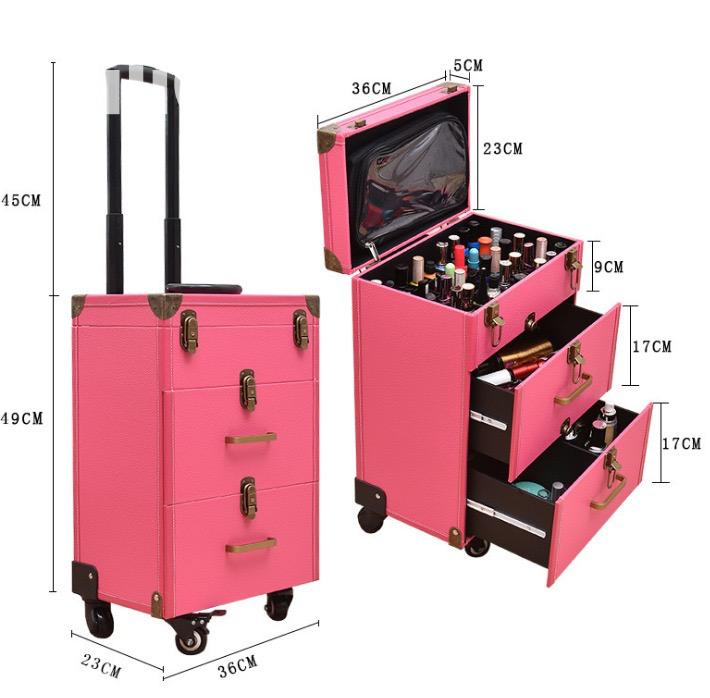 Archive: Trolley Makeup Box
