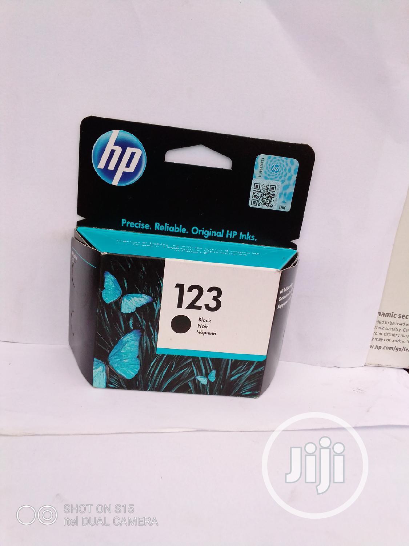 Archive: Original Hp Important Ink Cartridges 123 Black