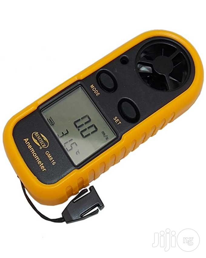 Digital LCD Smart Anemometer For Wind Speed & Temperature Gauge | Restaurant & Catering Equipment for sale in Lagos State, Nigeria