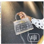 Transparent Designer Style Luxury Graffiti Bag | Bags for sale in Lagos State, Oshodi-Isolo