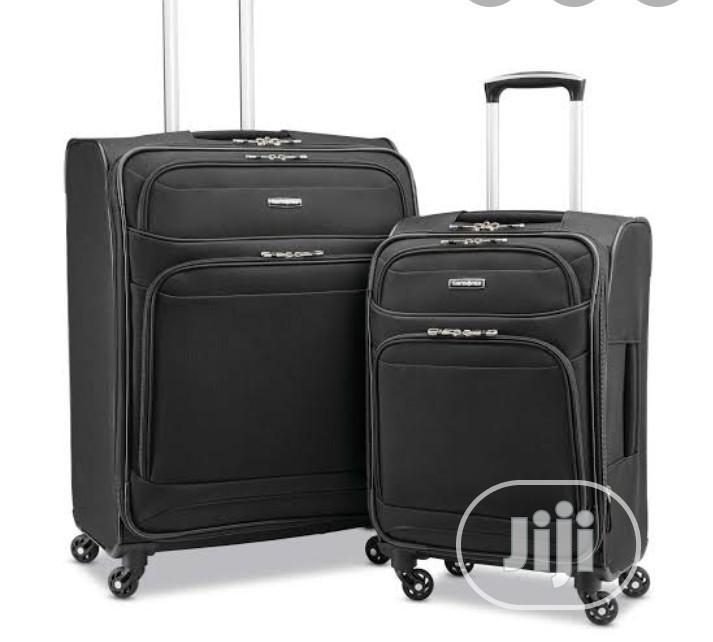 Samsonite 2 Piece Set Fabric Luggage