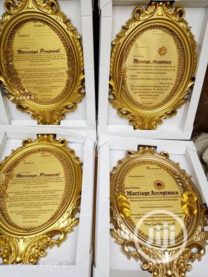 Engagement Proposal And Acceptance Letter For Your Traditional Wedding | Wedding Venues & Services for sale in Lagos State, Ikeja