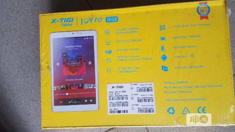 New X-Tigi Joy10 16 GB | Tablets for sale in Ikeja, Lagos State, Nigeria