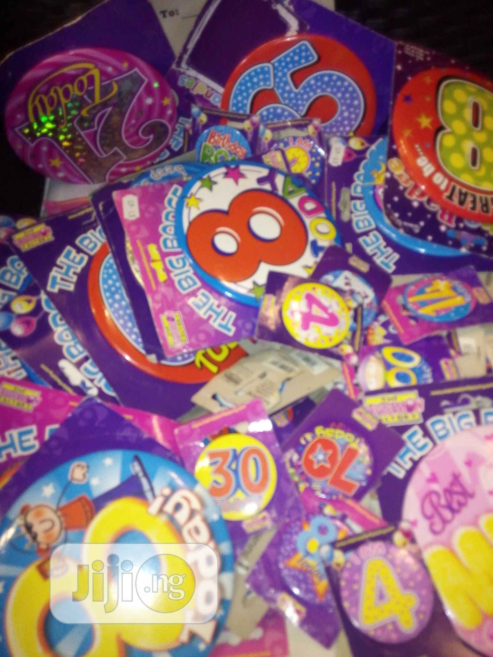Archive: Birthday Badges