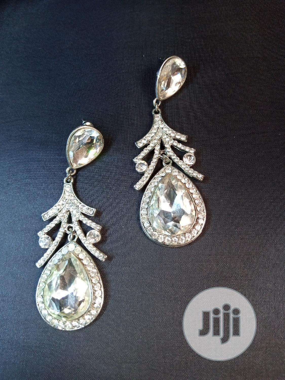 Archive: Sliver Stone Custume Earring.