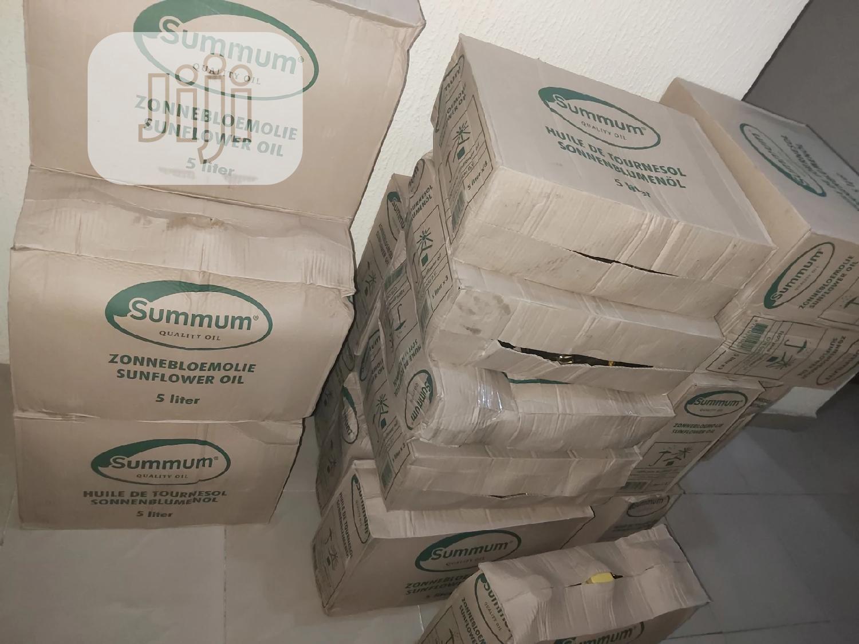 Summun Sunflower Oil Carton Of 3