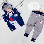 Champion 3pcs Sleeveless Hoodie for Kids | Children's Clothing for sale in Lagos State, Lekki Phase 1