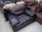 Good Livinroom Black Couch Sofas | Furniture for sale in Lagos State, Ojo