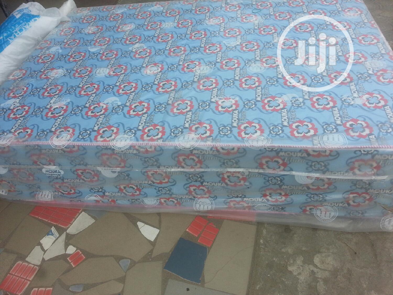 4x6 Mouka Mattress 14inches | Furniture for sale in Ojo, Lagos State, Nigeria
