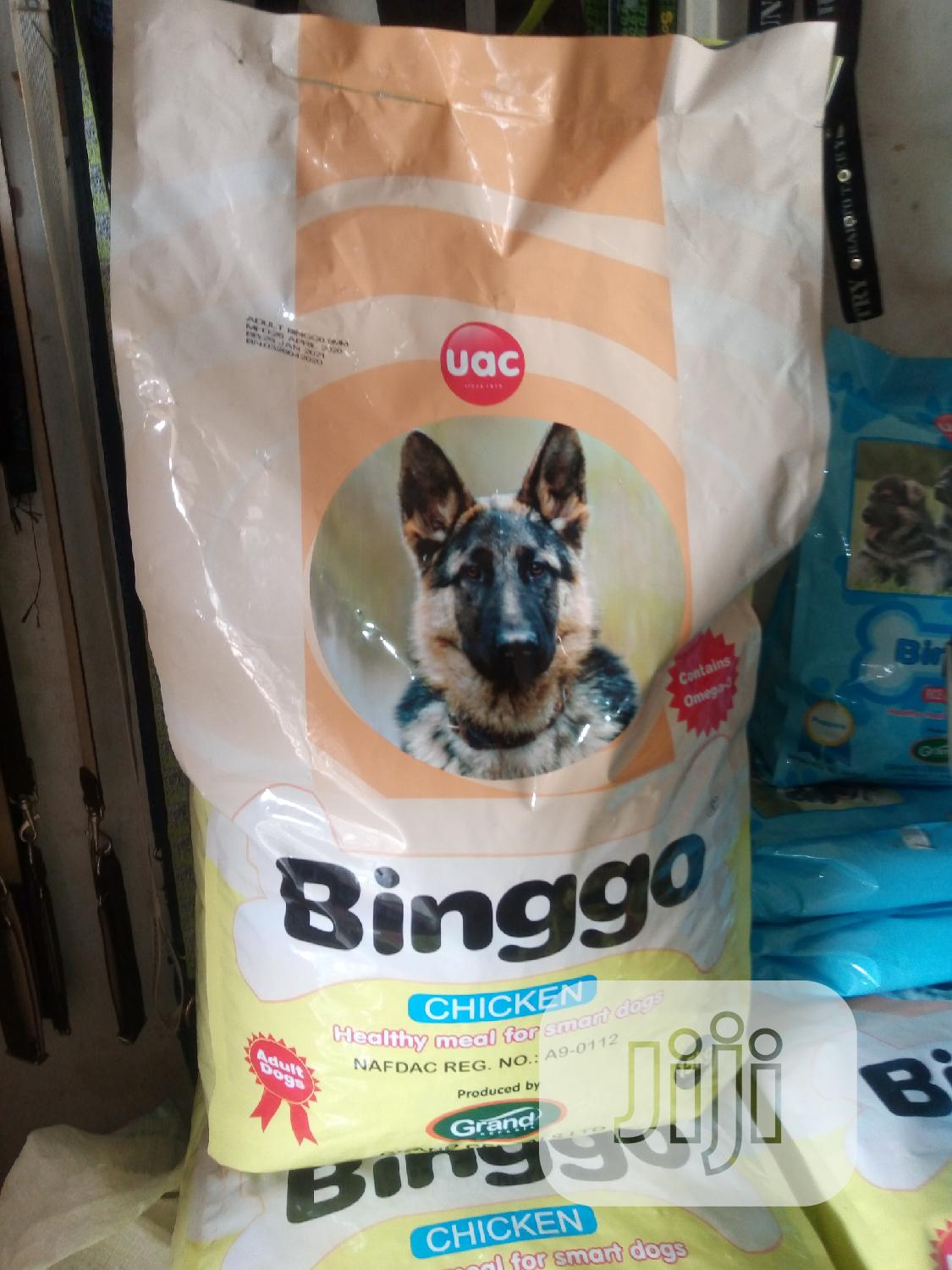 Binggo Dog Food 15kg Is Available At Vet Planet.