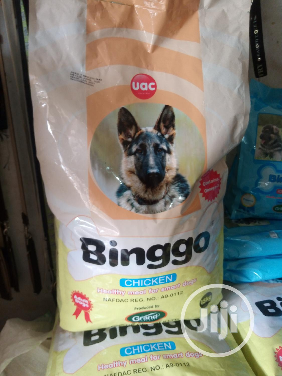 Binggo Dog Food 15kg Is Available At Vet Planet. | Pet's Accessories for sale in Utako, Abuja (FCT) State, Nigeria